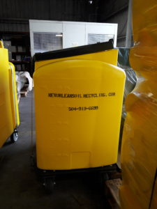 Used Cooking Oil Recycling Containers by New Orleans Cooking Oil Recycling