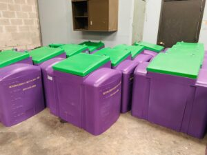 Used Cooking Oil Recycling Containers in New Orleans, LA